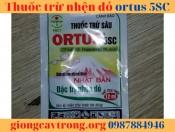 Thuốc trừ nhện Ortus 5SC